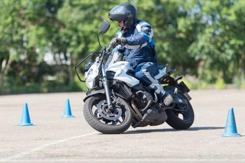 Motorrijbewijspoint Voorburg motor rijtest